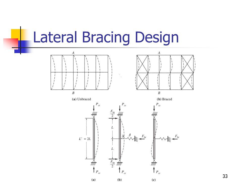 33 Lateral Bracing Design