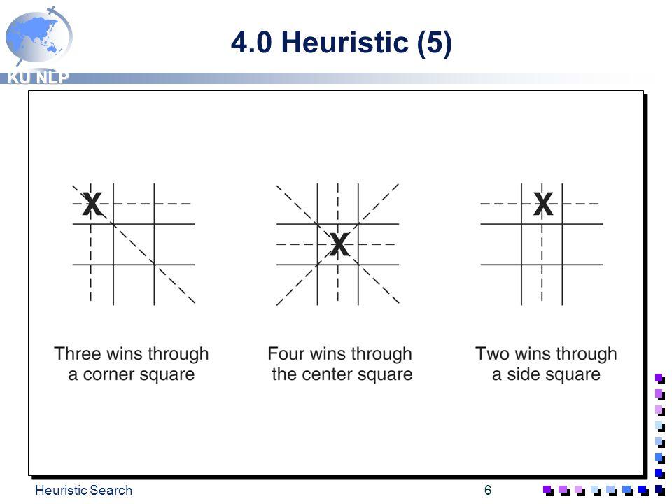 KU NLP Heuristic Search5 4.0 Heuristic (4)
