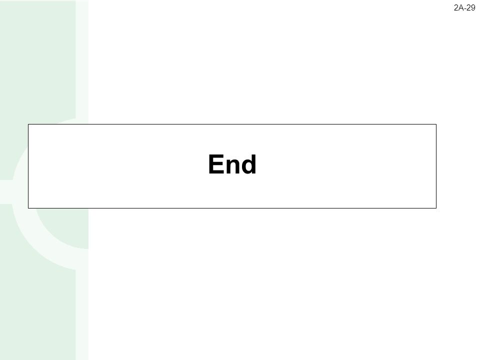 End 2A-29
