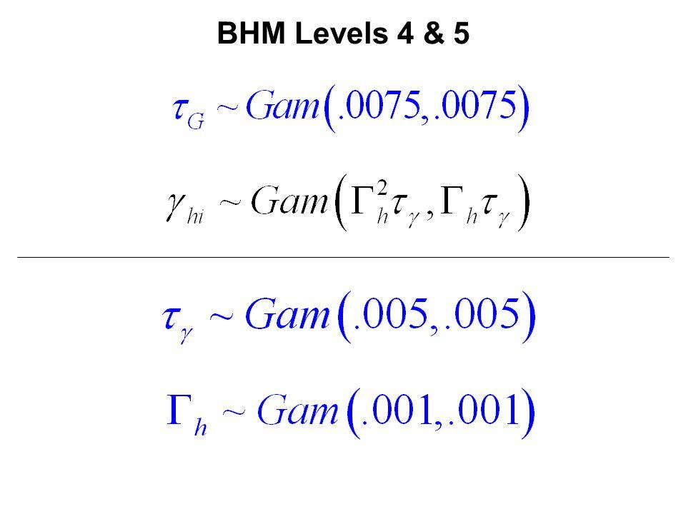BHM Levels 4 & 5