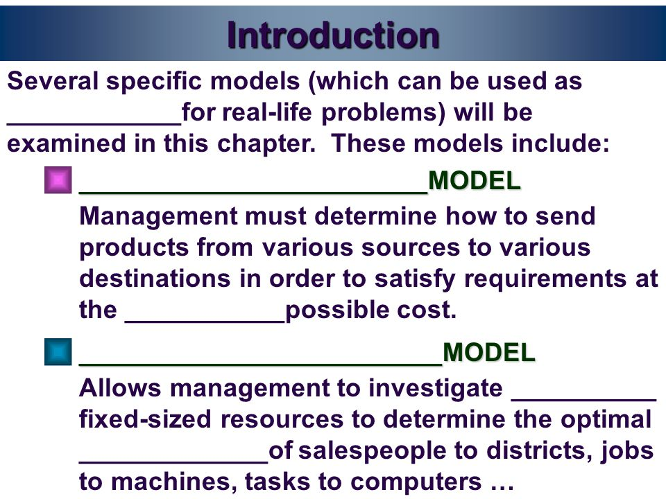 The Assignment Model Case 1: Supply __________Demand Unequal Supply and Demand: The Auditing Problem Reconsidered In this example, suppose the company President decides to audit the plant in Tilburg.