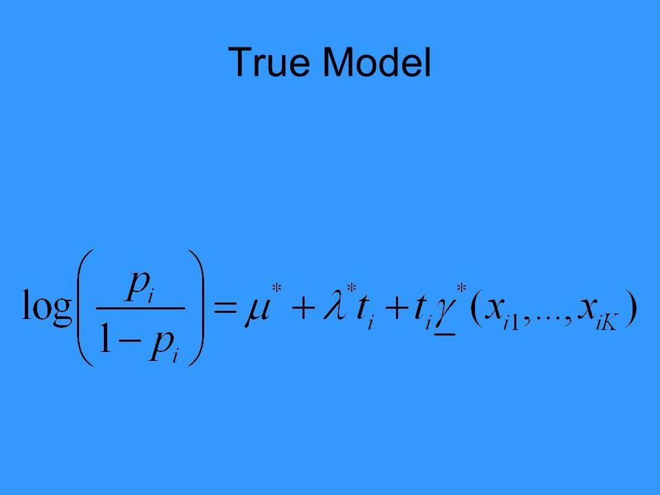 True Model