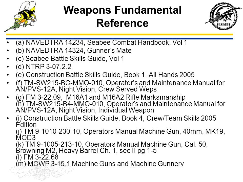 4 RULES OF WEAPONS SAFETY PQS Question 108.1 State the four rules of weapons safety.