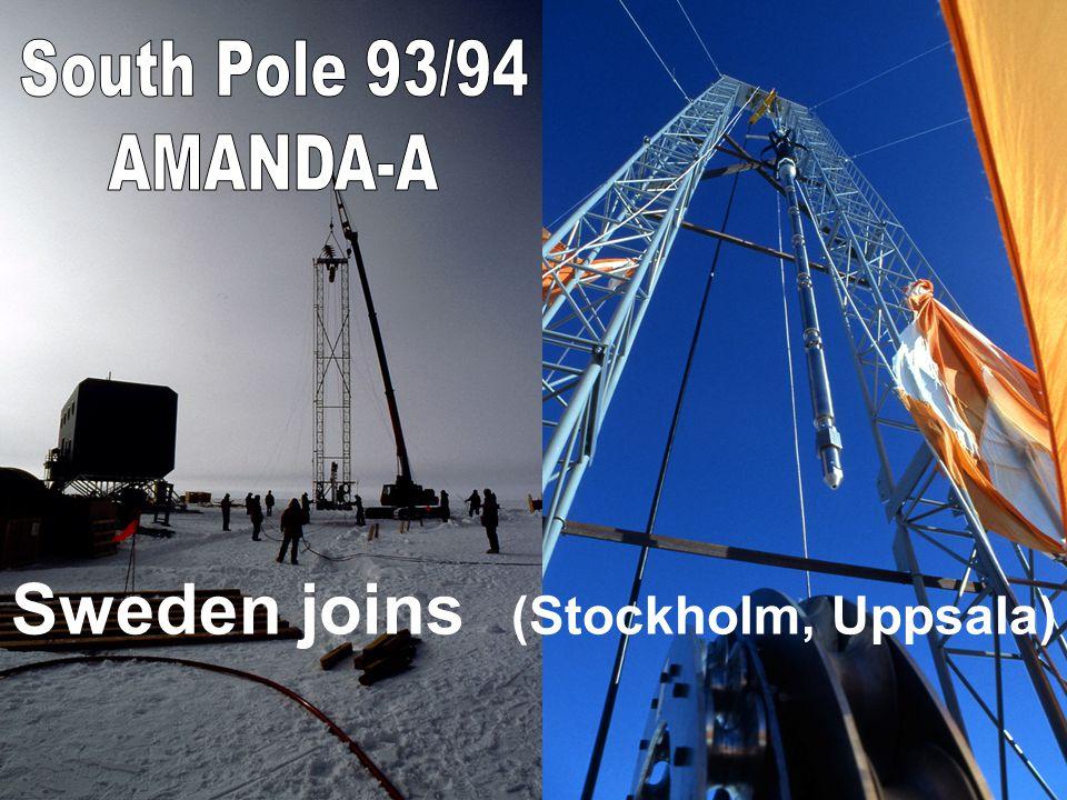 Sweden joins (Stockholm, Uppsala)