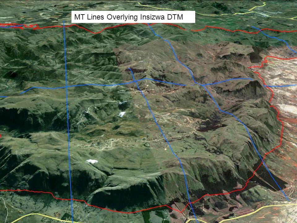 MT Lines Overlying Insizwa DTM