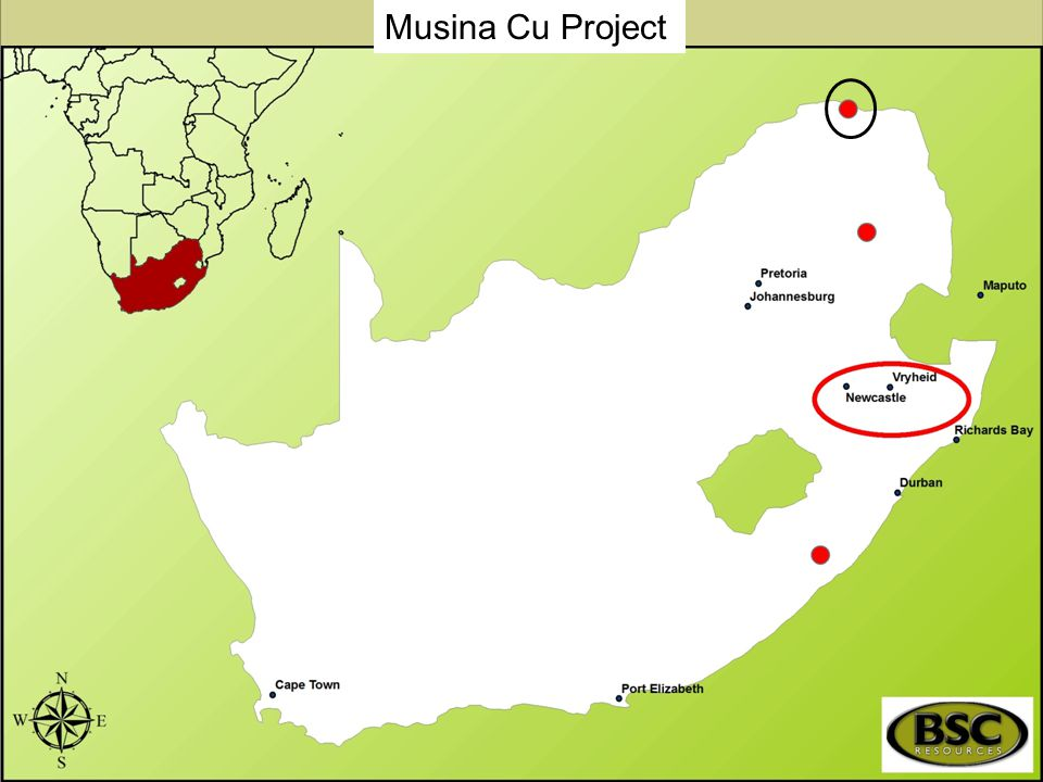 Musina Cu Project