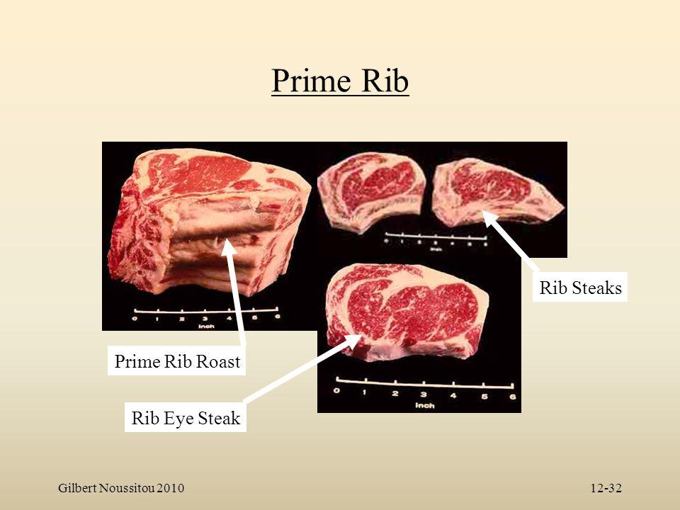 Gilbert Noussitou 201012-32 Prime Rib Prime Rib Roast Rib Eye Steak Rib Steaks