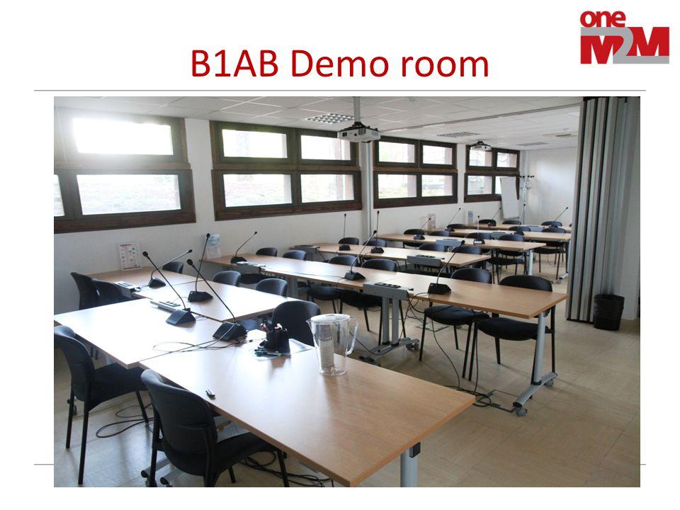 B1AB Demo room