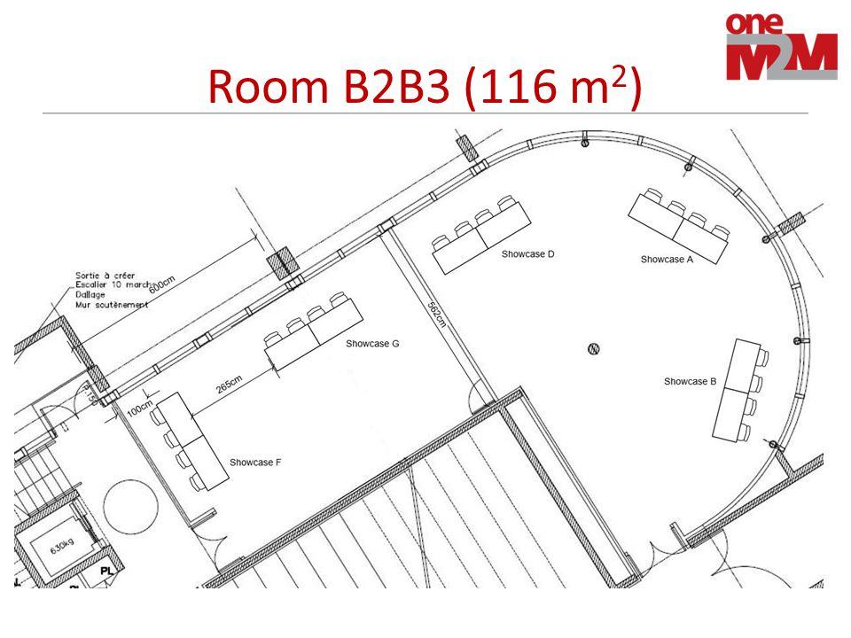 Room B2B3 (116 m 2 )