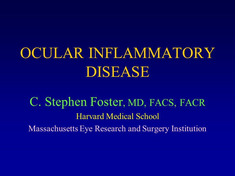OCULAR INFLAMMATORY DISEASE C.