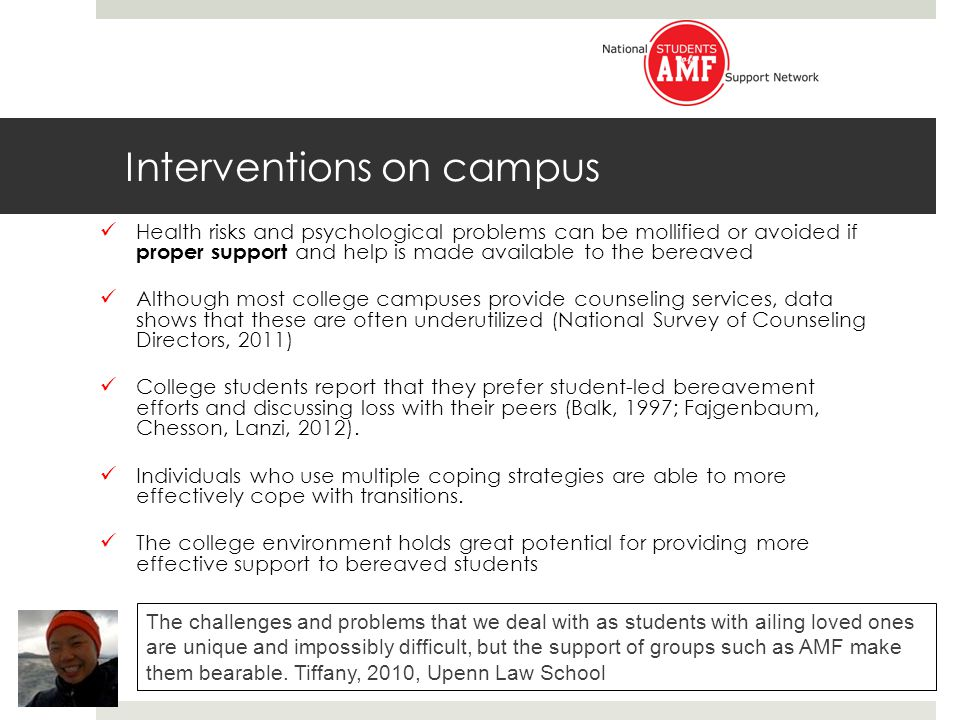Ways to Connect with AMF University professors and staff : Reach out to National Students of AMF: www.studentsofamf.org.