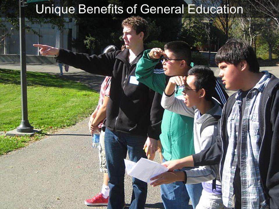 hook Unique Benefits of General Education reach