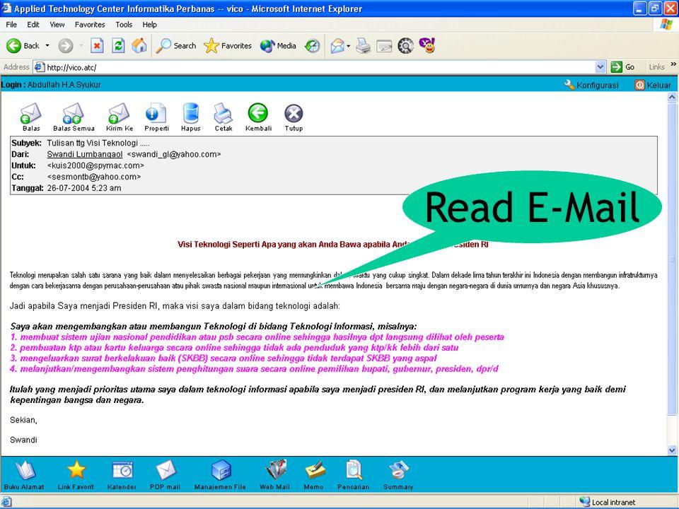Read E-Mail