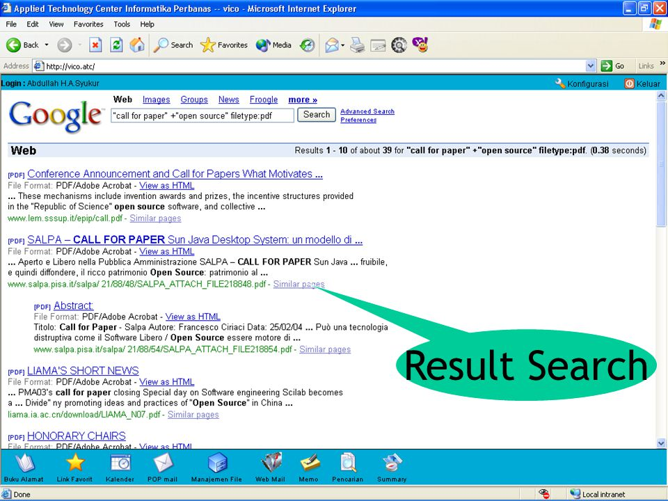 Result Search