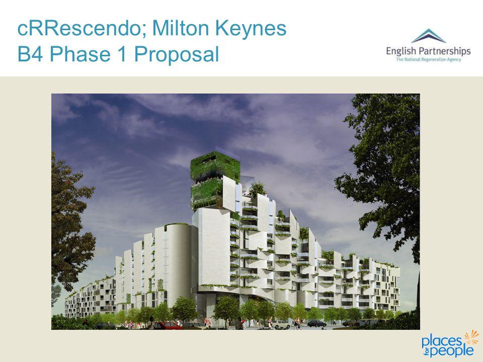 cRRescendo; Milton Keynes B4 Phase 1 Proposal