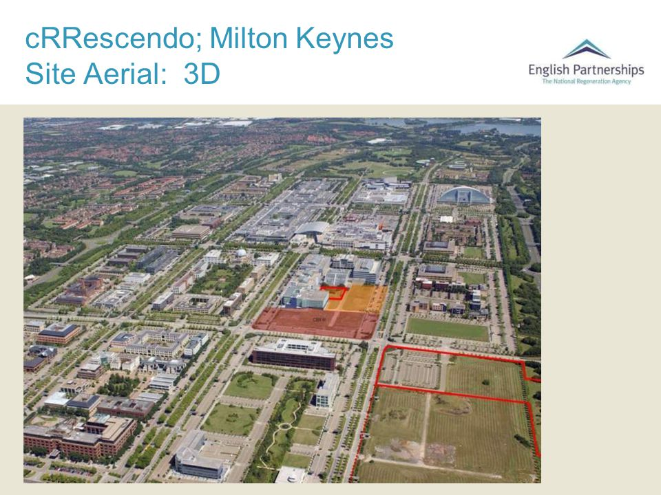 cRRescendo; Milton Keynes Site Aerial: 3D