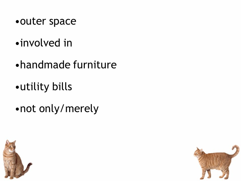 outer space involved in handmade furniture utility bills not only/merely