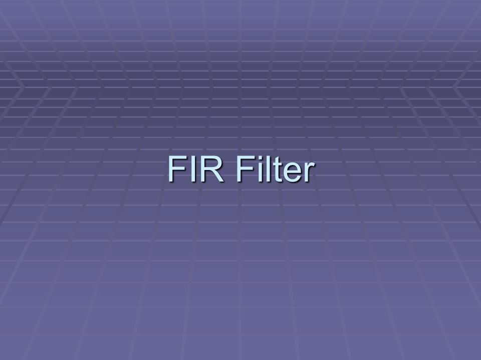 C-Implementation (FIR filter) #include #include #include coeff_ccs_16int.h int in_buffer[300]; int out_buffer[300]; #define TRUE 1 /*Function */ static int firfilter(int *input, int *output); static void dataIO(void);