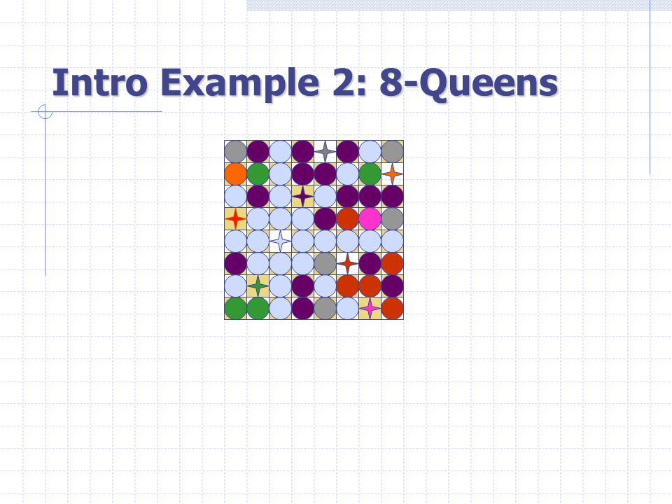 Intro Example 2: 8-Queens