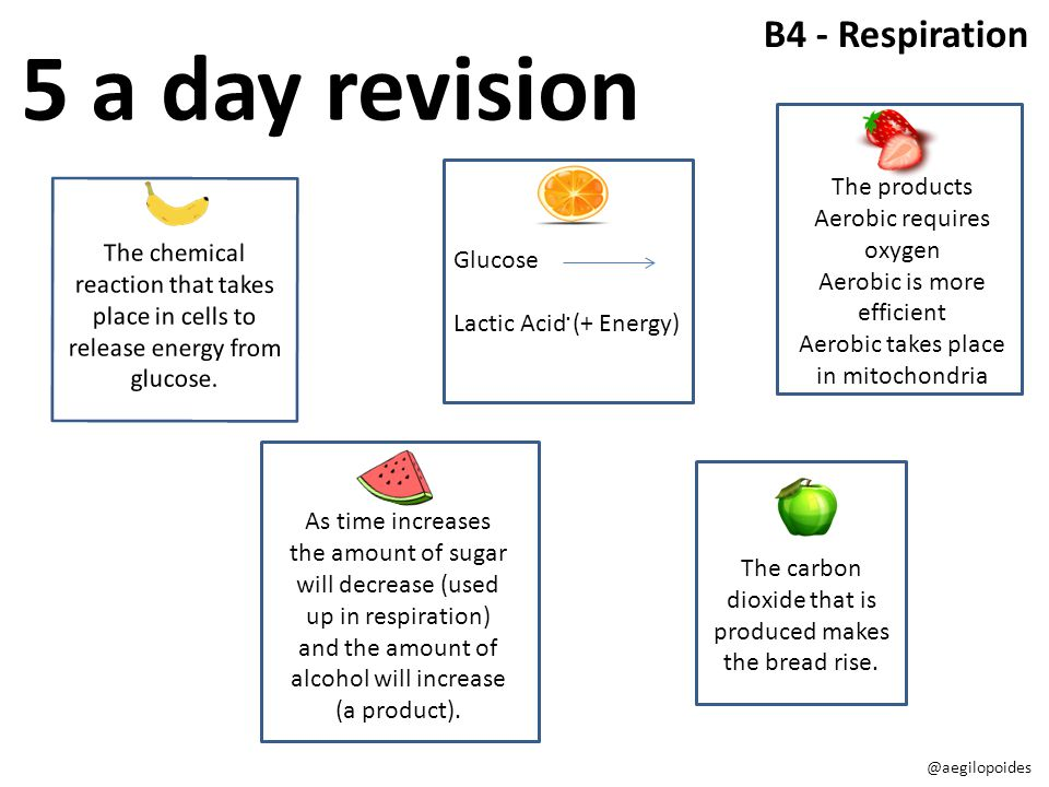 The chemical reaction that takes place in cells to release energy from glucose..