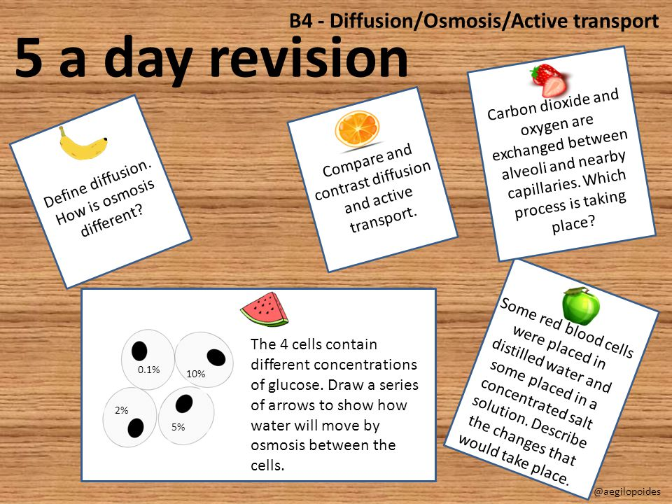 Define diffusion.How is osmosis different. Compare and contrast diffusion and active transport.