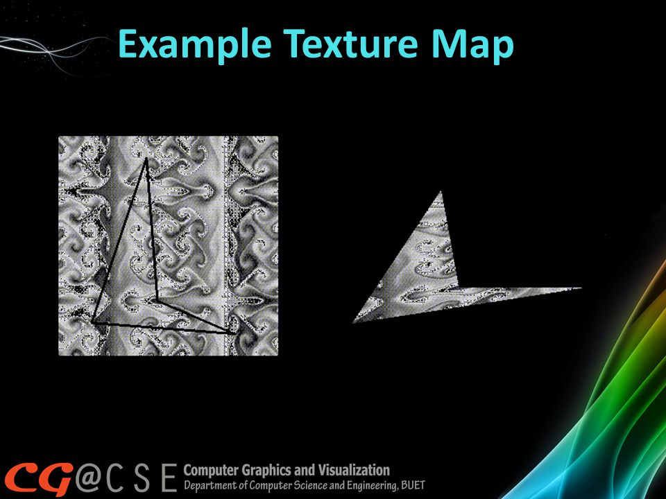 Example Texture Map