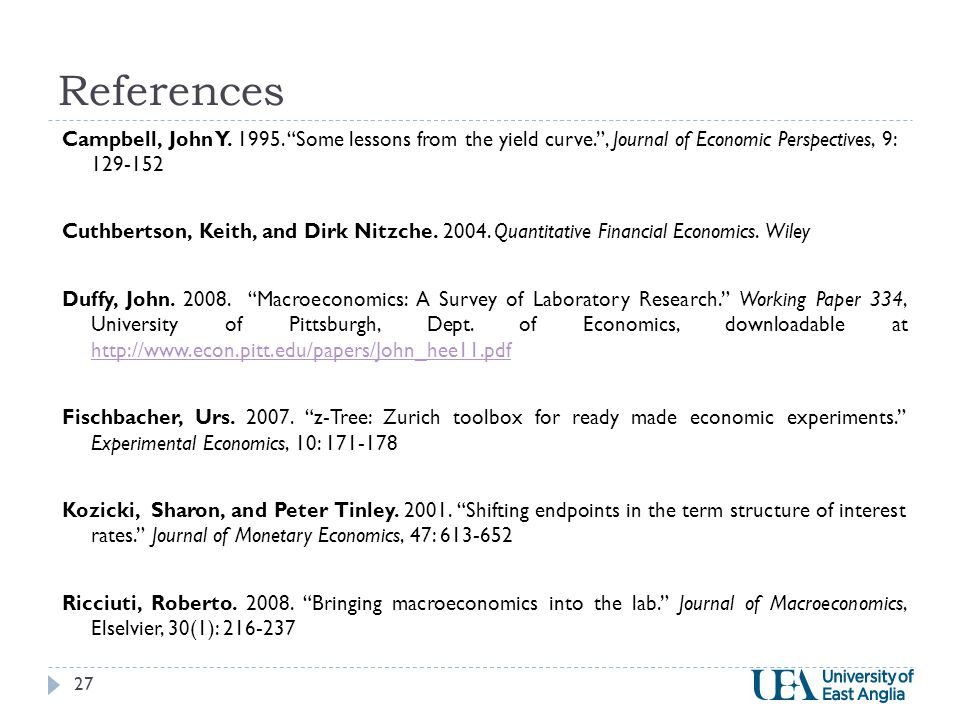 References Campbell, John Y. 1995.