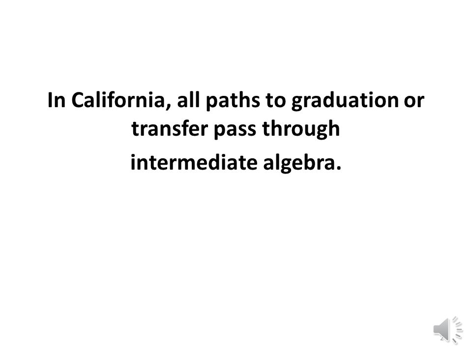 Pre-Transfer Mathematics at Berkeley City College: An Adaptive Approach Presenter: Mary Jennings October 31, 2013 1:50-2:40 p.