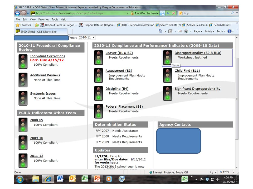 2011-12 PCR Review Progress 11