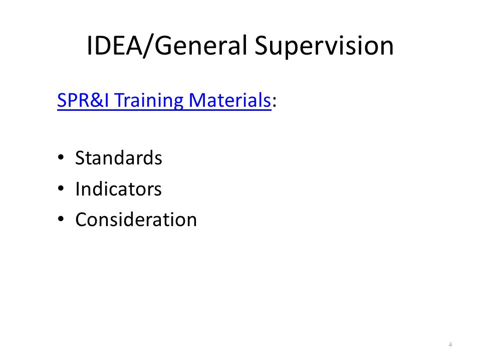 Indicator B9/B10 Disproportionate Representation Data Reports: IDEA by Race/Ethnicity (#, %, WRR) IDEA by Disability Type (#, %, WRR) Disability Type by Grade Level & Race/Ethnicity Eligibility Determination by Race/Ethnicity SPR&I Process if flagged: Worksheet Policy-to-Practice Review Corrective Action Plan 25