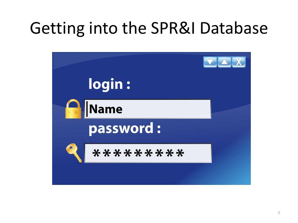 SPR&I Dashboard 10