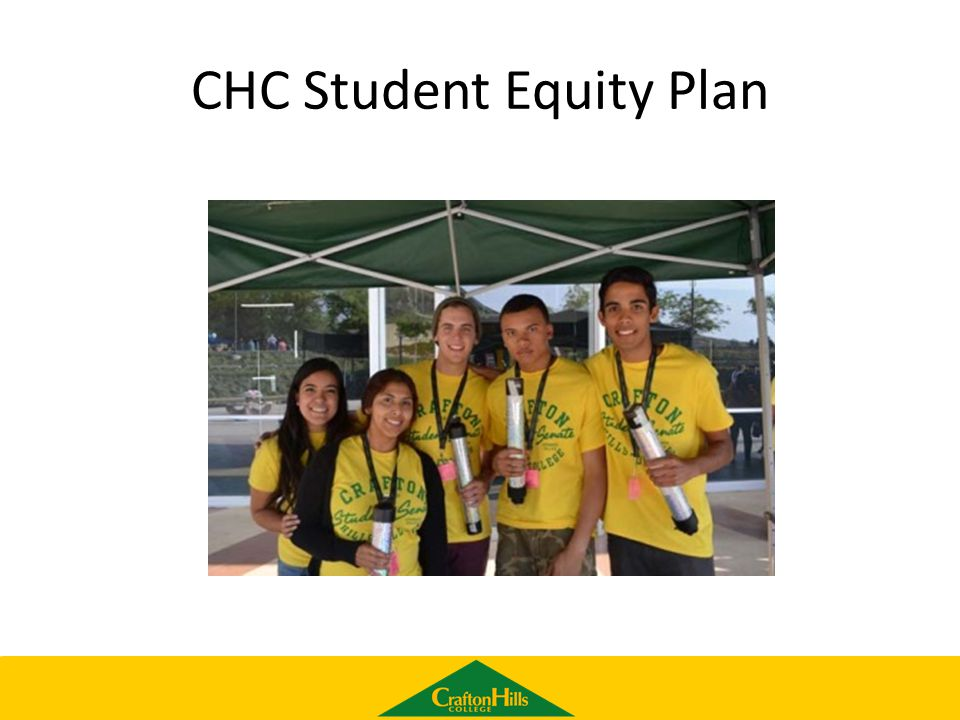 CHC Student Equity Plan