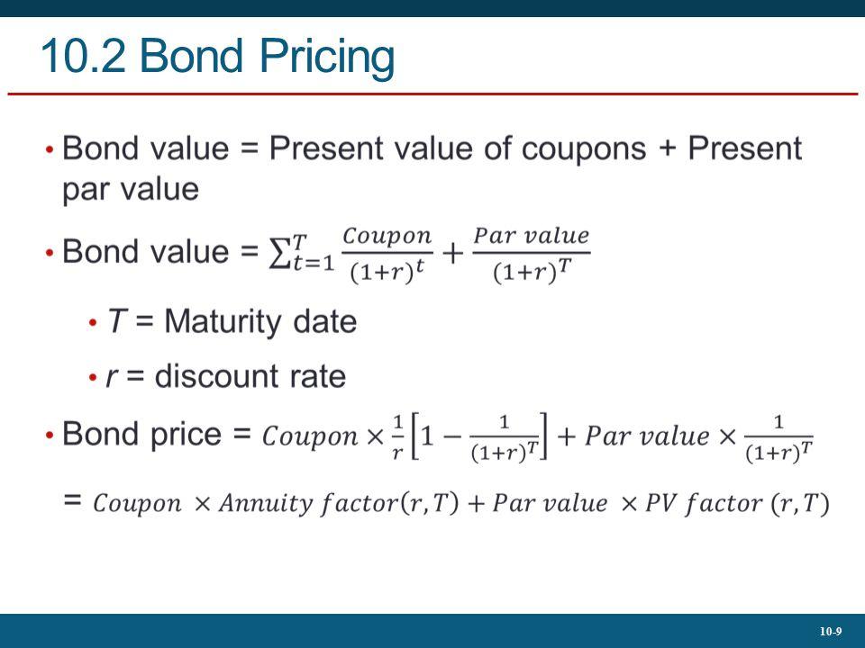 10-9 10.2 Bond Pricing