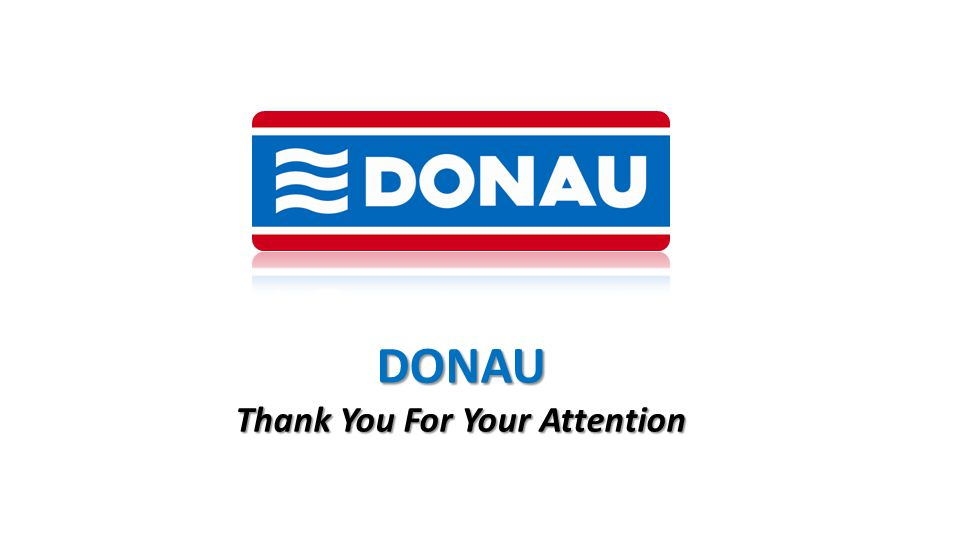 DONAU Thank You For Your Attention