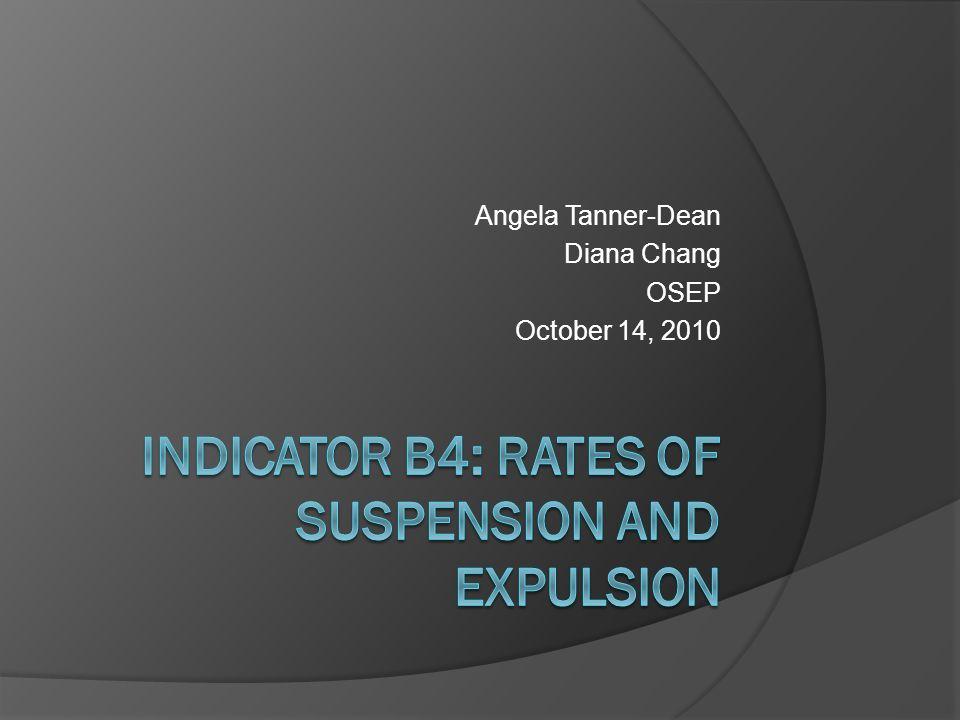 Regulatory Citation  34 CFR § 300.170 Suspension and expulsion rates.