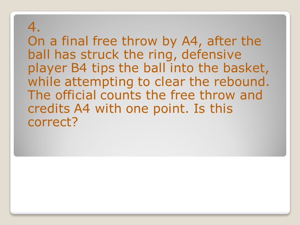 yes 44. Does the 5-second closely guarded rule apply in the back court?