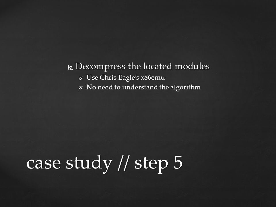  Modules contain proprietary headers case study // step 6