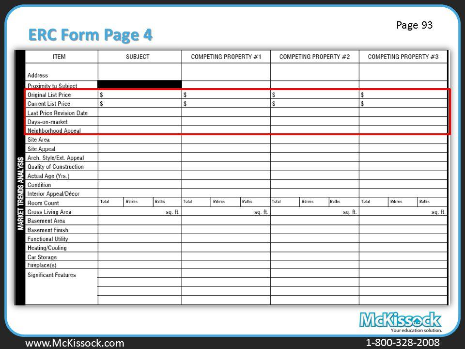 www.Mckissock.com www.McKissock.com 1-800-328-2008 ERC Form Page 4 Page 93