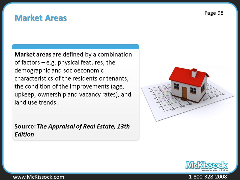 www.Mckissock.com www.McKissock.com 1-800-328-2008 Market Areas Market areas are defined by a combination of factors – e.g.