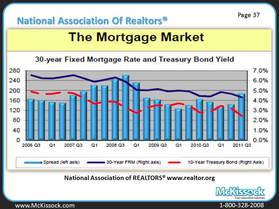 www.Mckissock.com www.McKissock.com 1-800-328-2008 National Association Of Realtors® National Association of REALTORS® www.realtor.org Page 37