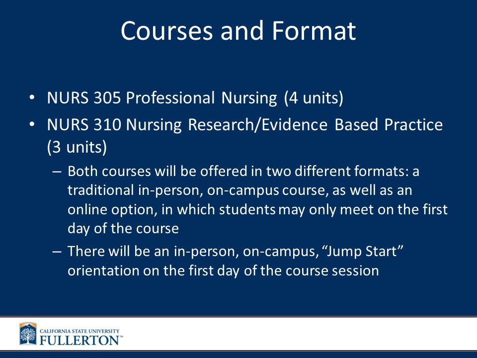 NURS 305 Professional Nursing The professional nursing role is examined including nursing theory and research, ethics theory, communication theory and principles, and the nursing process.