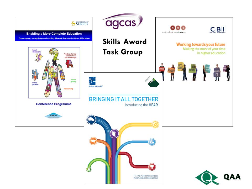 Skills Award Task Group