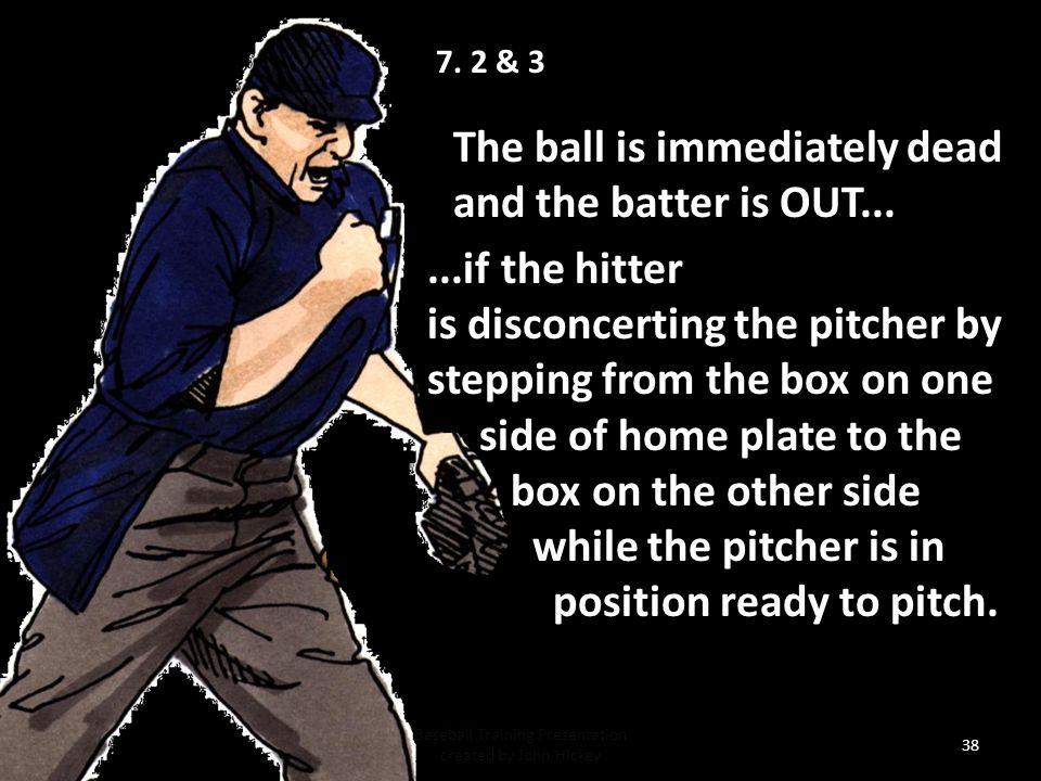 Baseball Training Presentation created by John Hickey 37 7.