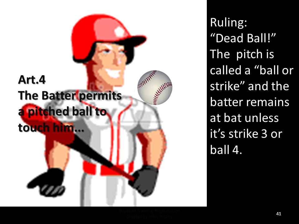Situation: When is the batter's foot considered inside the batter's box.