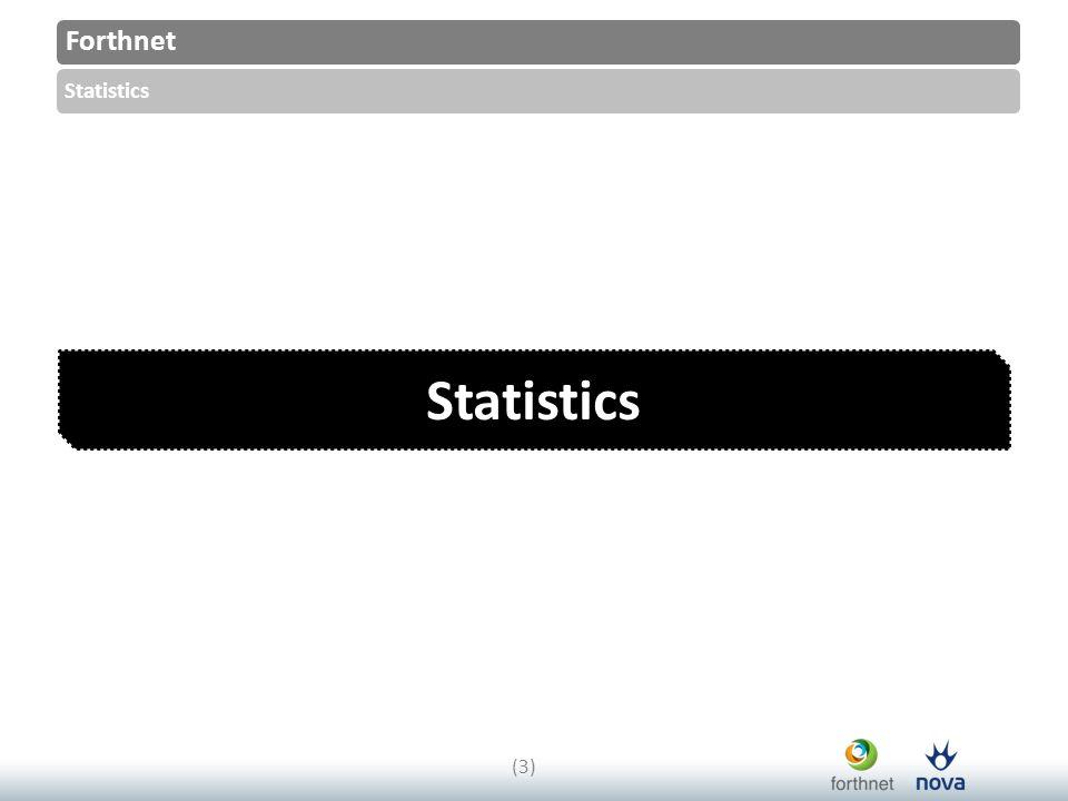 Forthnet Statistics (3)(3)