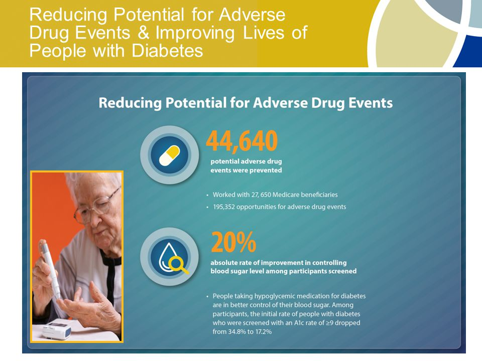 8 Reducing Potential for Adverse Drug Events & Improving Lives of People with Diabetes