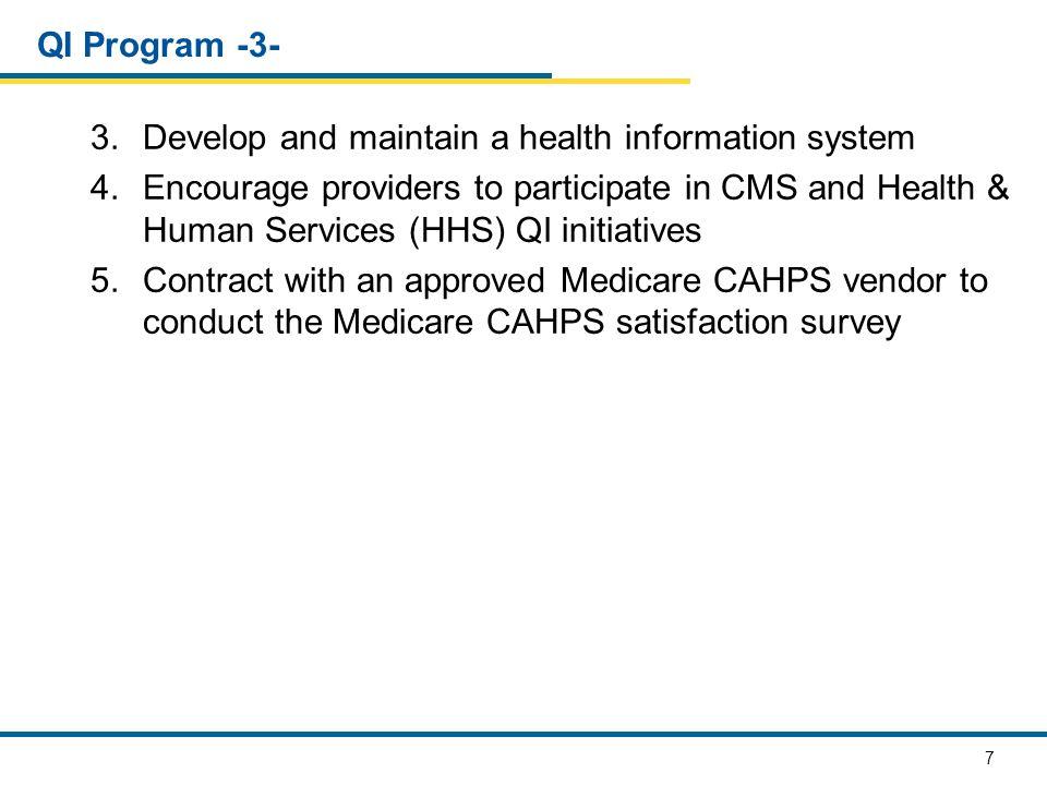 88 E.Program Implementation, Review, Revision E1.