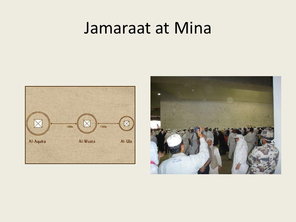 Jamaraat at Mina