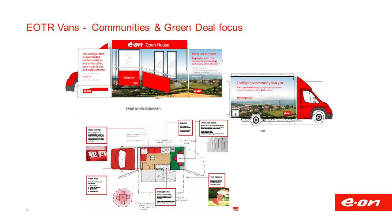 EOTR Vans - Communities & Green Deal focus 12