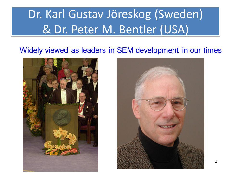 6 Dr. Karl Gustav Jöreskog (Sweden) & Dr. Peter M.